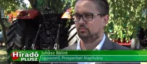 Embedded thumbnail for Juhász Bálint, a Prosperitati Alapítvány pályázatairól (videó)