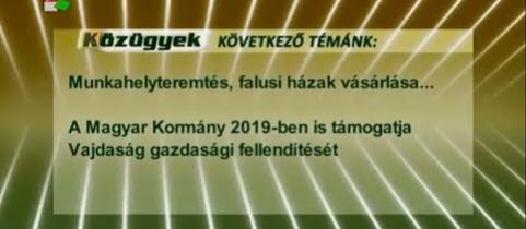 Embedded thumbnail for A Magyar Kormány 2019-ben is támogatja Vajdaság gazdasági fellendítését (videó)