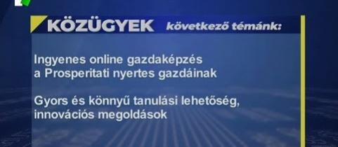 Embedded thumbnail for Ingyenes online gazdaképzés a Prosperitati nyertes gazdáinak (videó)