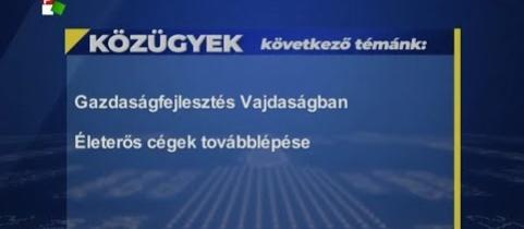 Embedded thumbnail for Gazdaságfejlesztés Vajdaságban (videó)