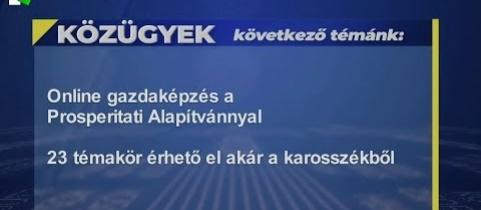 Embedded thumbnail for Online gazdaképzés a Prosperitati Alapítvánnyal (videó)