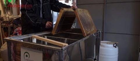 Embedded thumbnail for Beruházás megvalósítása – méhészeti eszközök, Szaján (videó)
