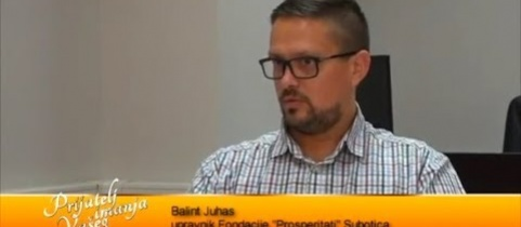 Embedded thumbnail for Intervju sa Balintom Juhas, zastupnik fondacije (video)