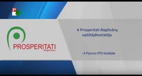 Embedded thumbnail for A Prosperitati Alapítvány sajtótájékoztatója Szabadkán (videó)