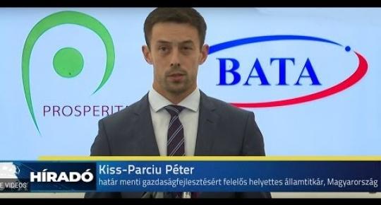 Embedded thumbnail for A Bata Kft  új műhelyrészét adták át Oromhegyesen (videó)