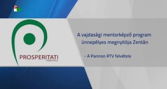 Embedded thumbnail for A vajdasági mentorképző program ünnepélyes megnyitója Zentán (videó)