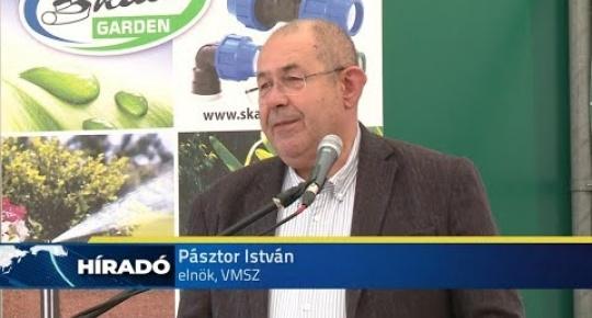 Embedded thumbnail for Átadták a Skala Garden Kft  új, korszerű gépeit (videó)
