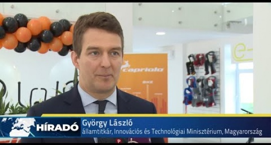 Embedded thumbnail for Két új gyárcsarnokkal lett gazdagabb a Capriolo Kft  Kerékpárgyár (videó)