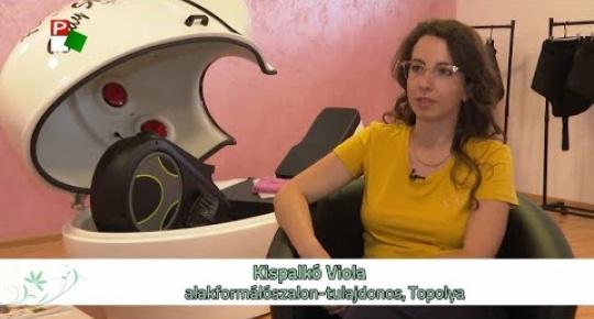 Embedded thumbnail for  Kezdő vállalkozóként érvényesülni Vajdaságban – Flower Fit, Topolya