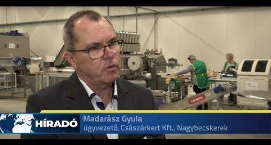 Embedded thumbnail for Átadták a Császárkert Kft  üzemét Nagybecskereken (videó)